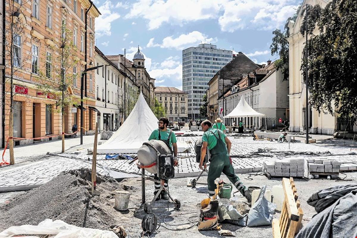 Prenova Gosposvetske ceste v Ljubljani